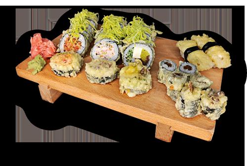 Sushi tempura duża